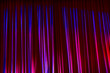 Leinwanddruck Bild - Curtain in the theatre.