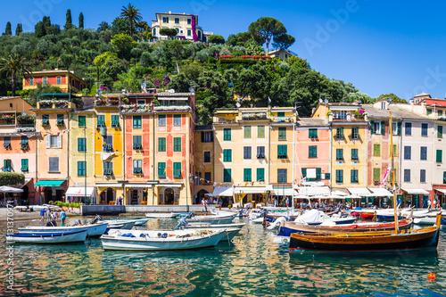 Canvas Prints Portofino, Italy - Summer 2016 - view from the sea