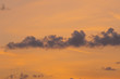 Texture, background. Clouds sunset dawn