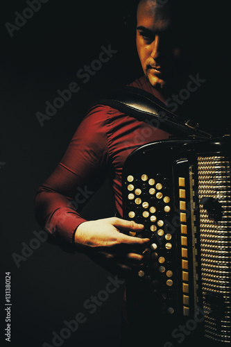 Fotografia, Obraz  Chromatic Accordion Player