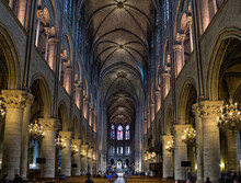 Inside Notre Dame Cathedral:  Light Edit With NR