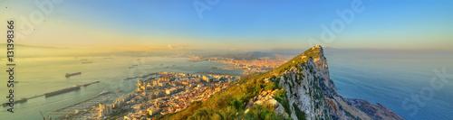 Fotografie, Obraz  The Rock of Gibraltar, a British overseas territory