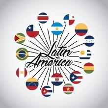 Flags Of Latin America Countri...