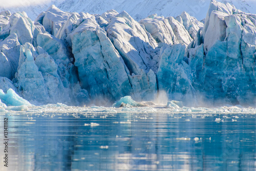 Photo sur Aluminium Glaciers Piece of ice