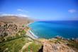 Preveli beach on Crete island. Greece