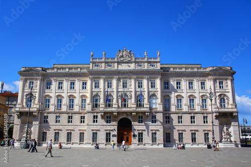 Photo  Palazzo del Lloyd Triestino on Piazza Unita d'Italia in Trieste,