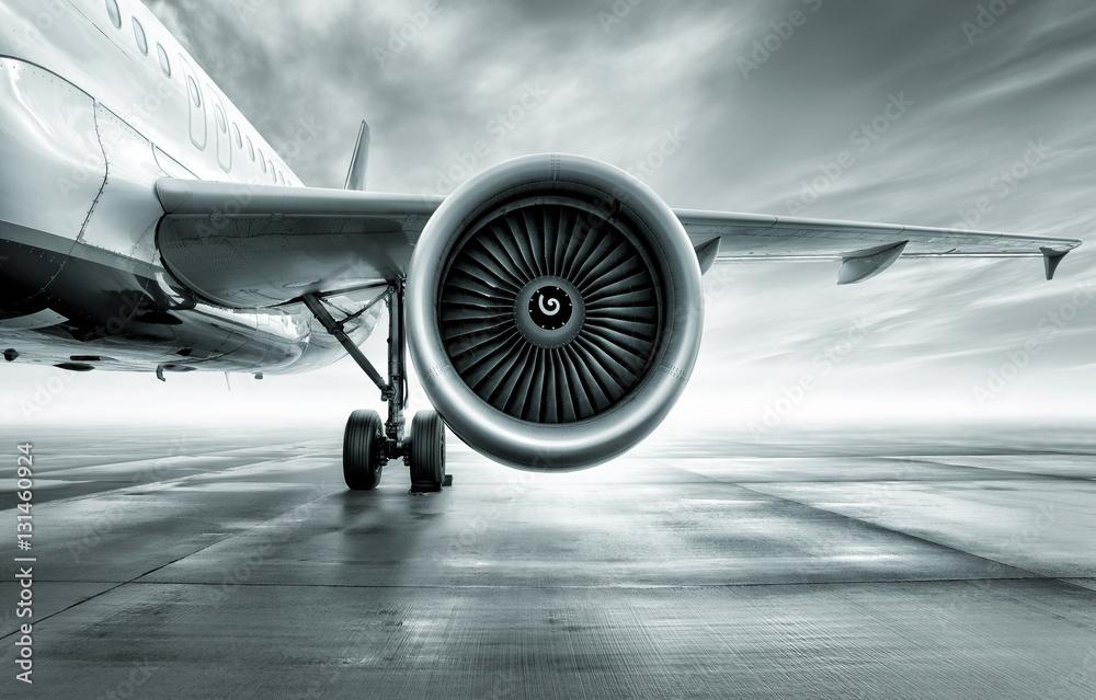 Fototapety, obrazy: Turbina samolotu