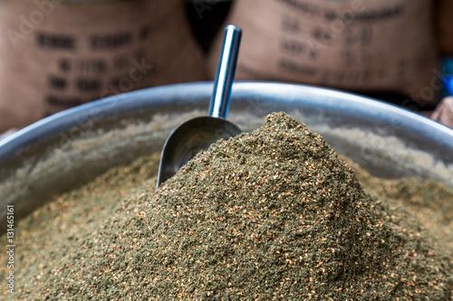 Photo  Middle eastern spice blend - zaatar