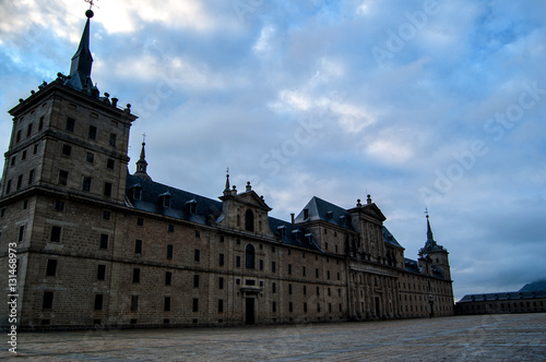 Fototapety, obrazy: Monasterio del Escorial plaza