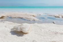 Natural Salt Crystals At The Dead Sea