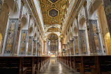 Interior Of The Cathedral Of St Andrea, Amalfi, Italy