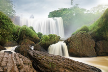 Elephant Falls. Da Lat, Vietnam