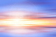 sunset sky background - colorful sky , sun and clouds