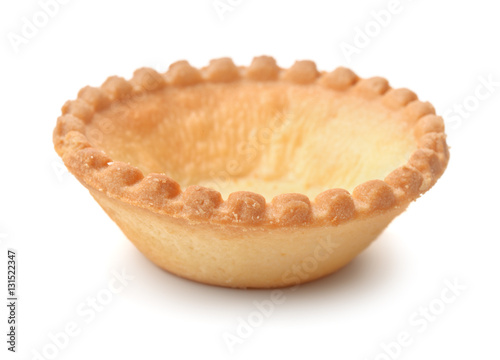 Photo  Single empty tart shell
