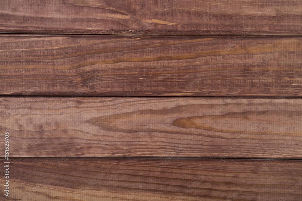 Empty natural brown wooden background - obrazy, fototapety, plakaty