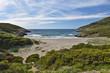 Corsican coast in the Cap Corse