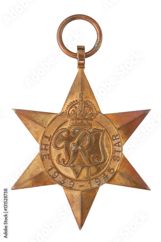 Fotografia  The 1939-1945 Star Second World War Medal