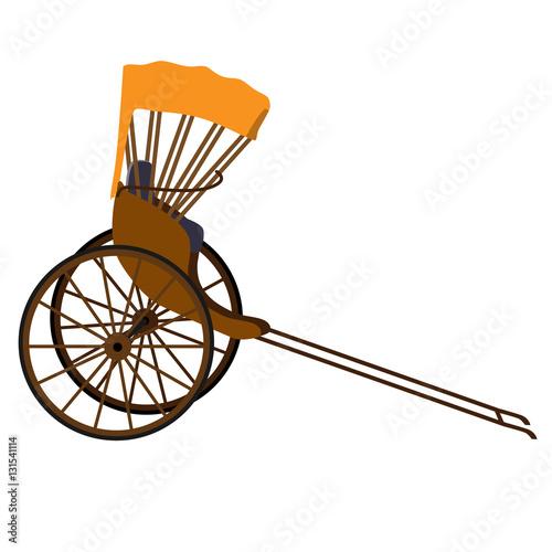 Valokuva  Rickshaw
