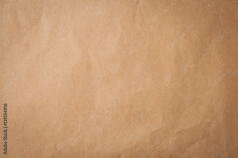 Fototapety, obrazy: Background texture of pld craft brown paper