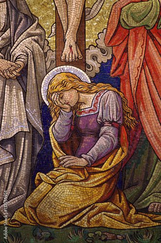 Fotografia Mary Magdalene (mosaic)