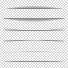 Page Divider. Transparent Real...