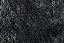 Texture Of Natural Fur Sheepskin