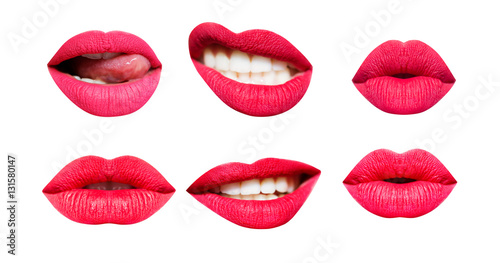 Fotografía  Woman's lip set