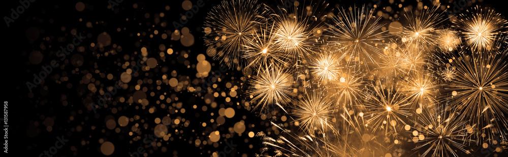 Fototapeta Silvester Feuerwerk