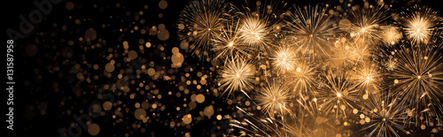 Obraz Silvester Feuerwerk - fototapety do salonu