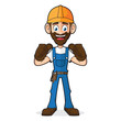 Handyman Giving Thumbs Up