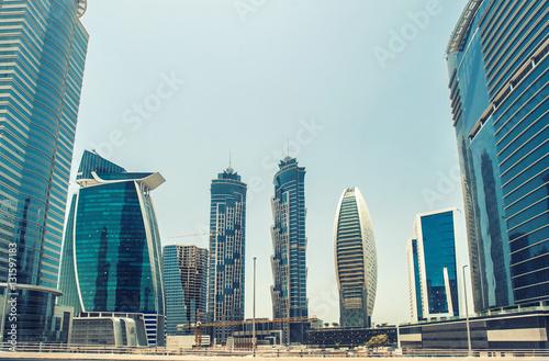 Plakat Business Bay Dubai, Zjednoczone Emiraty Arabskie