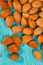Dry Apricot Nut Background