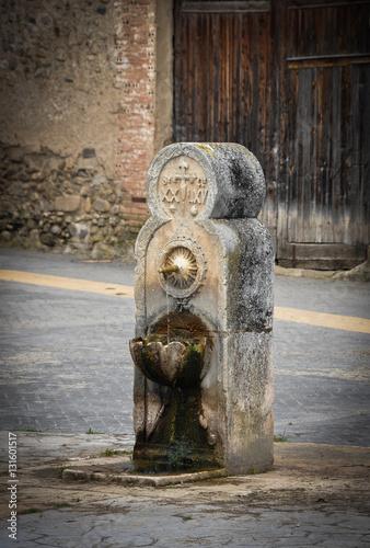 Fotografie, Obraz  The Pilgrimage Road to Santiago, Redecilla del Camino, Spain