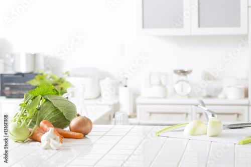 Fotografía  キッチンの野菜