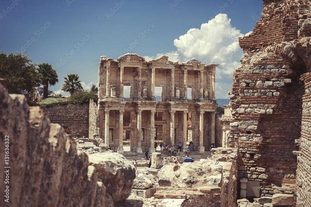 Efes Antik Tiyatro Foto Poster Wandbilder Bei Europosters