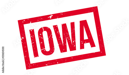 Photo  Iowa rubber stamp