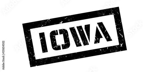 Photo  Iowa rubber stamp