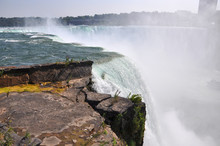 Horseshoe Falls Of Niagara Falls, New York State, USA