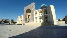 The Mir-i Arab Madrassah Is The Part Of Po-i-Kalan Architectural Complex And The Notable Landmark Of Bukhara, Uzbekistan.