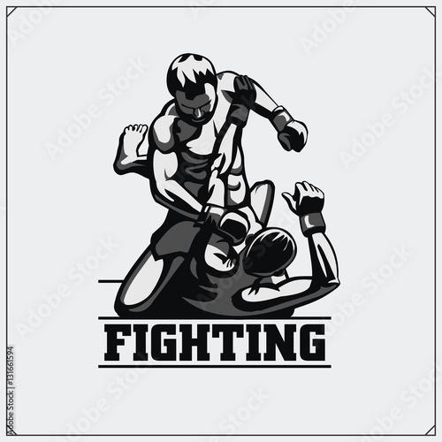 Fotografía  Fighters of martial mixed arts