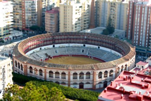 In de dag Stadion Arènes de Malaga