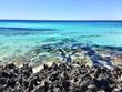 Beatiful Sunny Beach day in Formentera Spain.