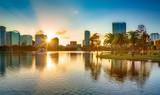Fototapeta Nowy York - Sunset at Orlando
