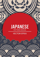 Japanese Pattern Design Vector...