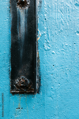 Recess Fitting Zen Blue wall - Street Art