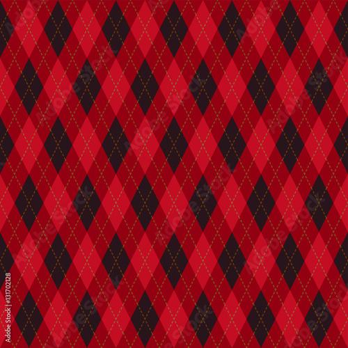 czerwono-czarna-krata