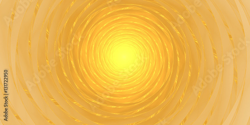 Staande foto Fractal waves Abstract solar spiral