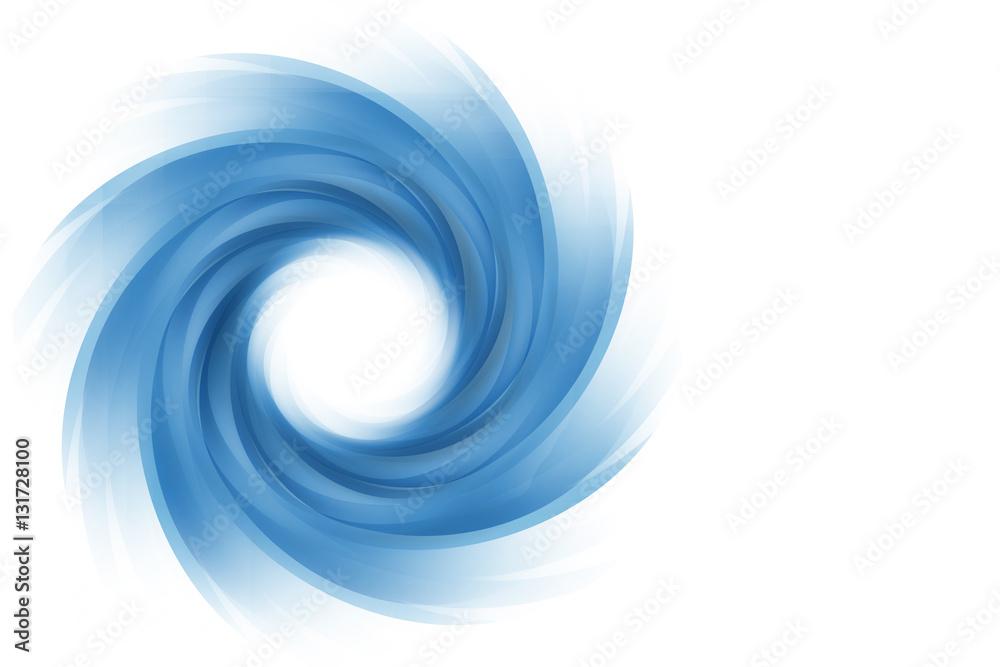 Fototapety, obrazy: blue twirl background