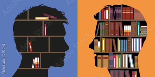 Fotografia  éducation - connaissance - savoir - instruction - littérature - ignorance