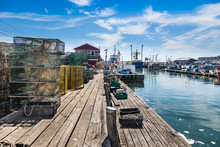 Union Wharf Lobster Traps On P...